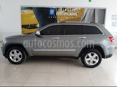 Jeep Grand Cherokee Limited Premium 4x4 5.7L V8 usado (2012) color Gris precio $268,900