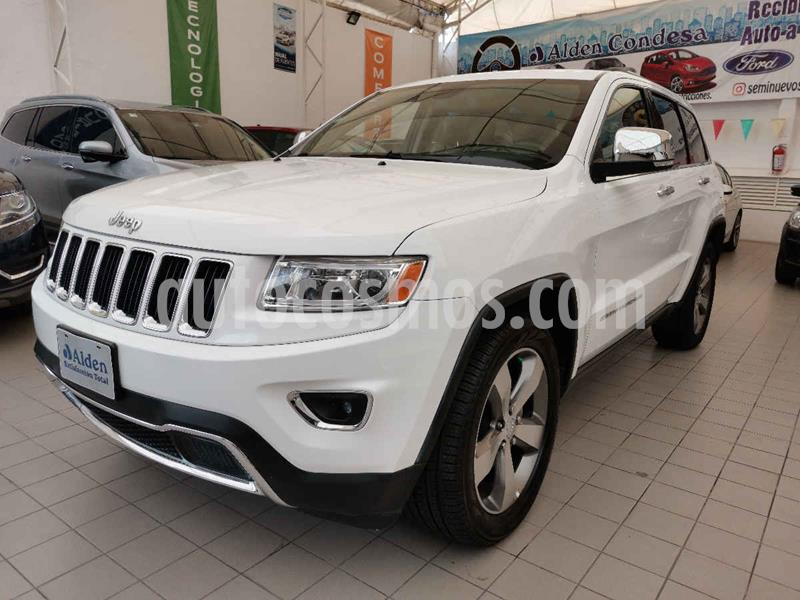 Jeep Grand Cherokee Limited Navegacion 4x2 3.6L V6 usado (2015) color Blanco precio $375,000