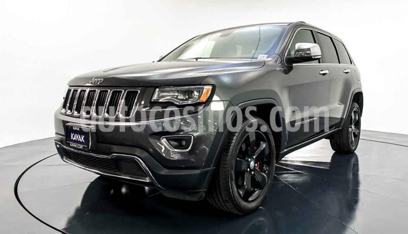Jeep Grand Cherokee Limited Navegacion 4x2 3.6L V6 usado (2016) color Gris precio $442,999