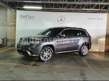 Jeep Grand Cherokee 5p Overland Summit 4x2 V8/5.7 Aut usado (2014) color Plata precio $449,000