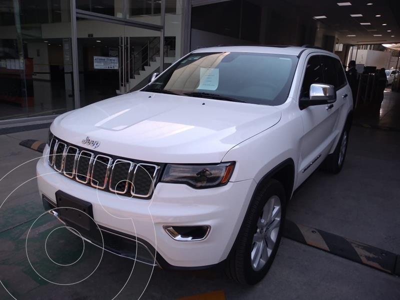 Jeep Grand Cherokee Limited Lujo 5.7L 4x2 usado (2017) color Blanco precio $510,000
