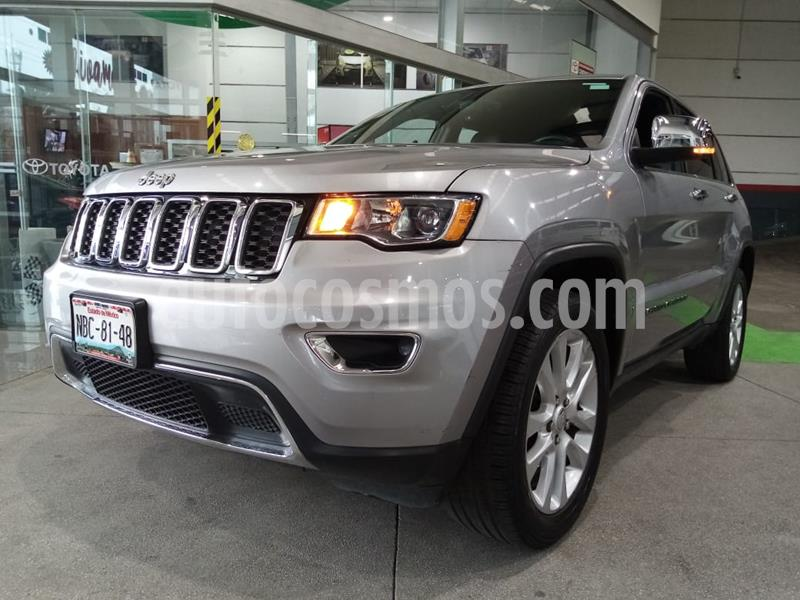Jeep Grand Cherokee Limited 3.6L 4x2 usado (2017) color Plata Martillado precio $489,000