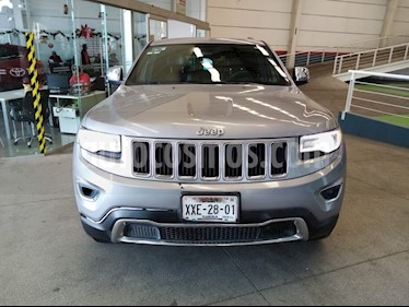 Jeep Grand Cherokee Limited 3.6L 4x2 usado (2016) color Plata Martillado precio $449,000