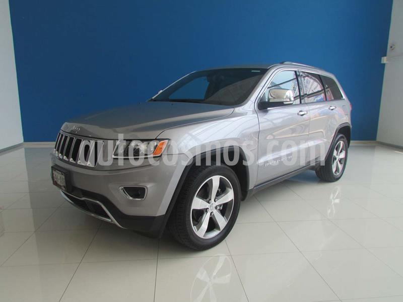Jeep Grand Cherokee Limited 4x2 3.6L V6 usado (2015) color Plata precio $375,000