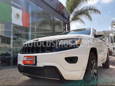 Jeep Grand Cherokee 5p Limited Lujo 4x2 V6/3.6 Aut usado (2015) color Blanco precio $398,000