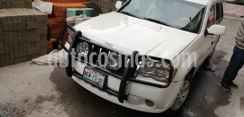 Jeep Grand Cherokee Limited 4x2 4.7L V8 usado (2008) color Blanco precio $108,000