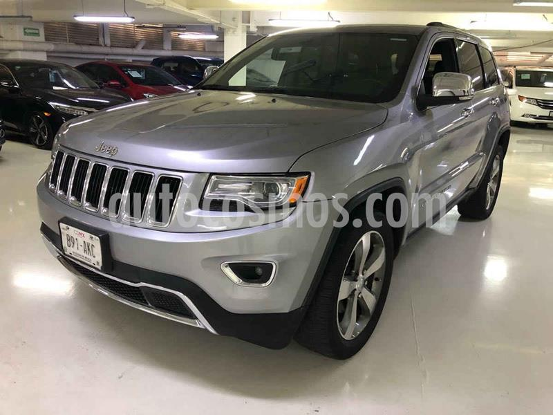 Jeep Grand Cherokee Limited 4x2 3.6L V6 usado (2015) color Gris precio $339,100