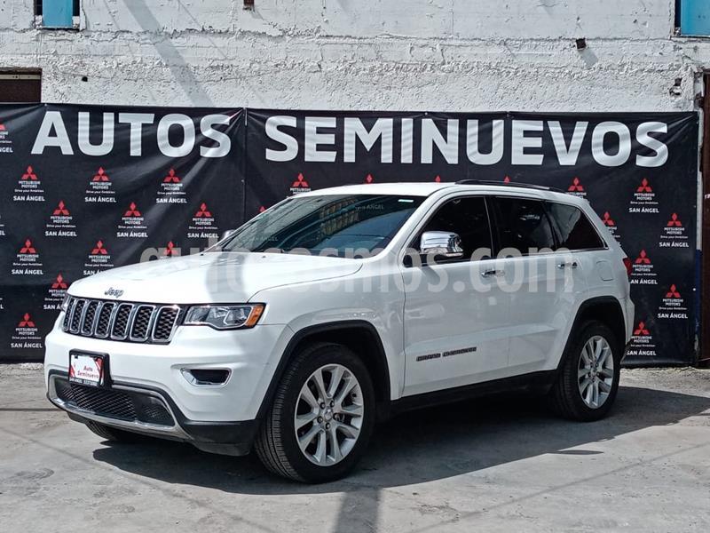 Jeep Grand Cherokee Limited X 3.6L 4x2 usado (2017) color Blanco precio $449,000