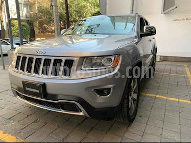 Jeep Grand Cherokee Limited Navegacion 4x2 3.6L V6 usado (2014) color Gris precio $315,000