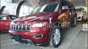 Jeep Grand Cherokee 5p Limited 4x2 V6/3.6 Aut Nav usado (2017) color Rojo precio $449,900