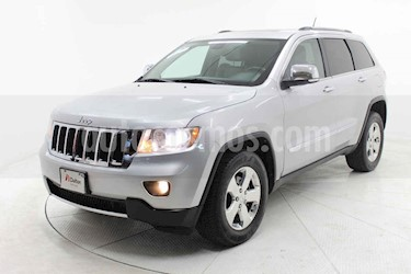 Jeep Grand Cherokee 5p Limited 4x2 V6 aut usado (2012) color Plata precio $229,000