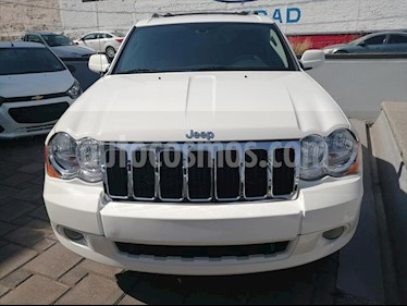 Jeep Grand Cherokee 5P LIMITED 4X2 V6 POWER TECH usado (2010) color Blanco precio $268,000