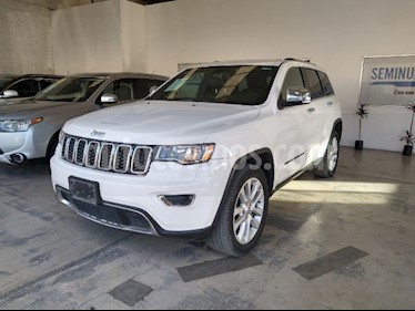 Jeep Grand Cherokee Limited 3.6L 4x2 usado (2017) color Blanco precio $480,000