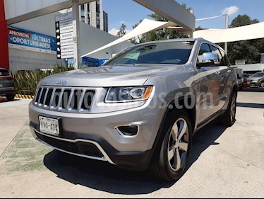 Jeep Grand Cherokee Limited 3.6L 4x2 usado (2015) color Plata Martillado precio $342,000