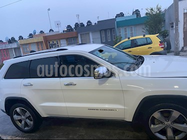 Jeep Grand Cherokee Limited 4x2 3.6L V6 usado (2015) color Blanco precio $330,000