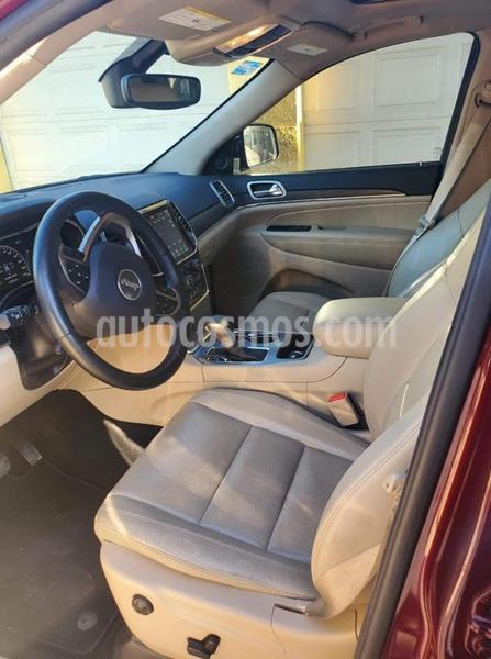 Jeep Grand Cherokee Limited 3.6L 4x2 usado (2019) color Rojo Cerezo precio $690,000