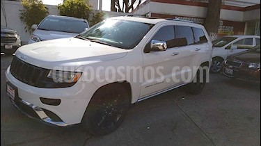 Jeep Grand Cherokee Overland Summit 4x4 V8/5.7 Aut usado (2015) color Blanco precio $459,000