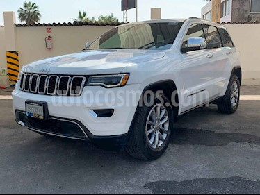 Jeep Grand Cherokee Limited Navegacion 4x2 3.6L V6 usado (2018) color Blanco precio $472,000