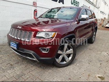 Jeep Grand Cherokee 5P LIMITED LUJO 4X2 V6/3.6 AUT usado (2016) color Rojo precio $599,000