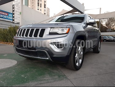 Jeep Grand Cherokee Limited 4x2 3.6L V6 usado (2015) color Plata precio $340,000