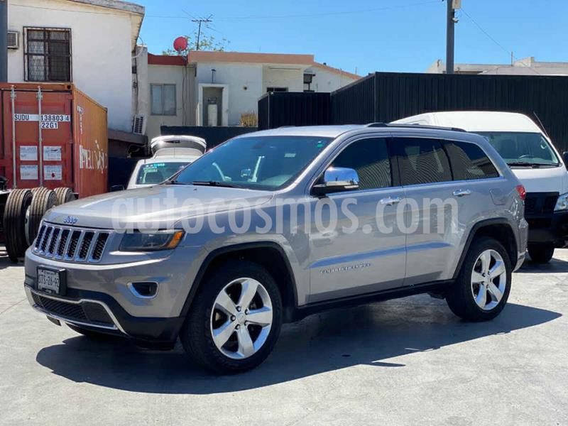 Jeep Grand Cherokee Limited 4x2 3.6L V6 usado (2014) color Plata precio $299,800