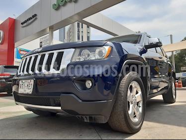 Jeep Grand Cherokee Limited Lujo 3.6L 4x2 usado (2012) color Azul Acero precio $245,000