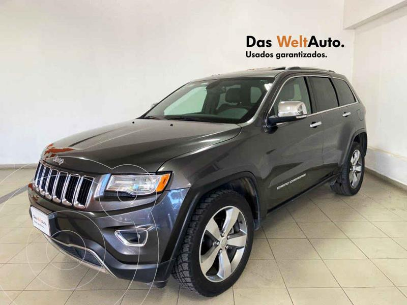 Jeep Grand Cherokee Limited Navegacion 4x2 3.6L V6 usado (2016) color Gris precio $399,995