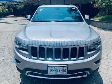 Jeep Grand Cherokee LIMITED LUJO 4X2 V6/3.6 AUT usado (2015) color Plata precio $369,000