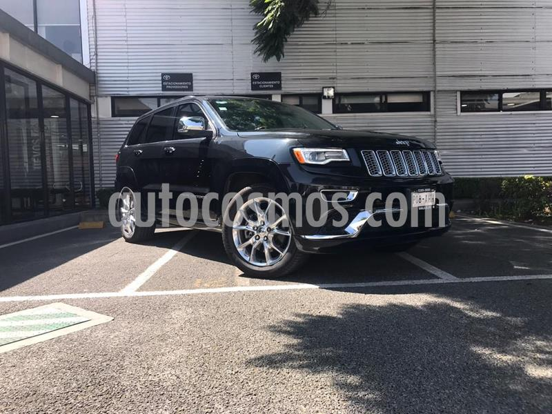 Jeep Grand Cherokee Summit 5.7L 4x4 usado (2016) color Negro precio $600,000
