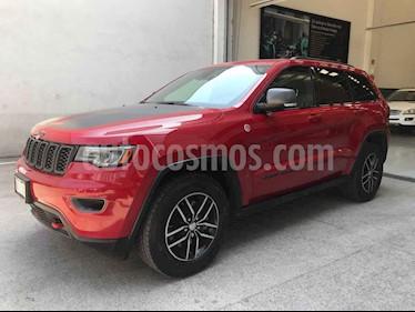 Jeep Grand Cherokee 5p TrailHawk V8/6.4 Aut usado (2018) color Rojo precio $645,000