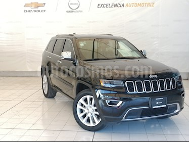 Jeep Grand Cherokee Limited 4x2 3.6L V6 usado (2017) color Negro precio $545,000
