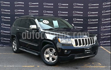 Jeep Grand Cherokee Limited Premium 4x2 5.7L V8 usado (2012) color Negro precio $202,000