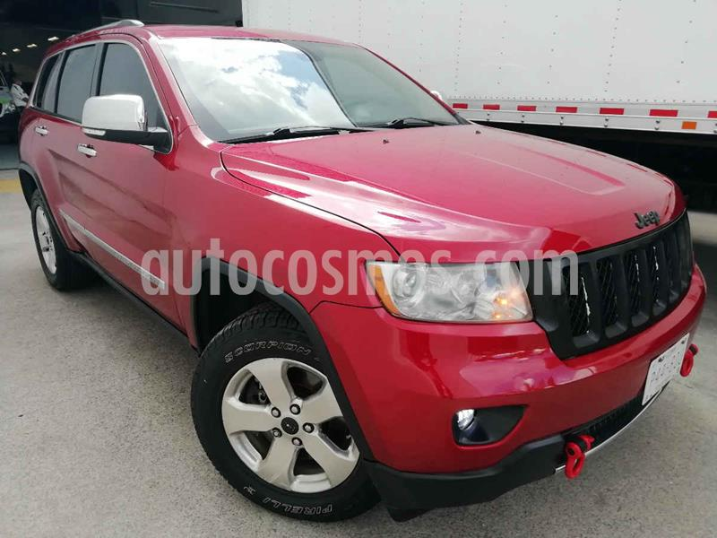 Jeep Grand Cherokee Overland 5.7L V8 4x4 Tech Group usado (2011) color Rojo precio $245,000
