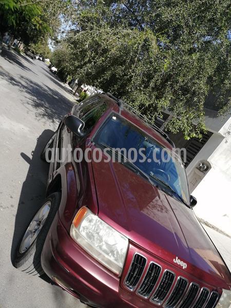 Jeep Grand Cherokee Limited 4X4 4.7L V8 usado (2001) color Rojo precio $52,000