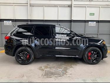 Jeep Grand Cherokee 5P SRT-8 HEMI V8 6.4L TA PIEL/GAMUZA QC GPS RA-20 usado (2018) color Negro precio $880,000