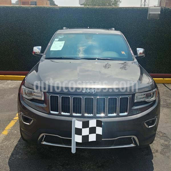 Jeep Grand Cherokee Limited Premium 4x2 5.7L V8 Navegacion  usado (2014) color Gris Mineral precio $340,000