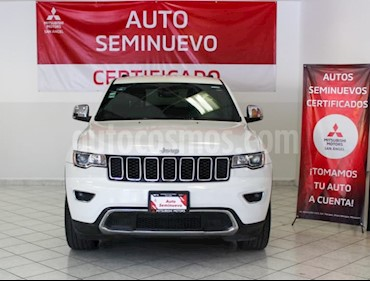 Jeep Grand Cherokee Limited Lujo Advance 5.7L 4x4 usado (2017) color Blanco precio $499,990
