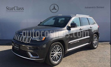 Jeep Grand Cherokee Summit 5.7L 4x4 usado (2017) color Gris precio $699,900
