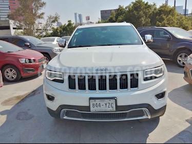 Jeep Grand Cherokee 5p Limited Lujo 4x2 V6/3.6 Aut usado (2014) color Blanco precio $315,000