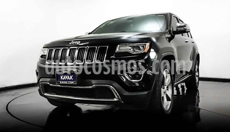 Jeep Grand Cherokee Limited Lujo 5.7L 4x2 usado (2015) color Negro precio $422,999