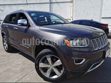 Jeep Grand Cherokee 5p Limited 4x2 V6/3.6 Aut usado (2014) color Negro precio $280,000