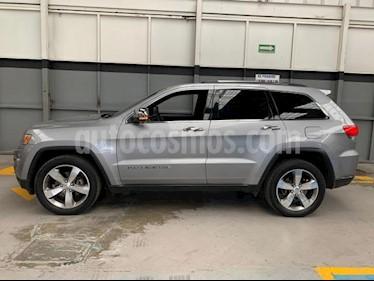 Jeep Grand Cherokee 5P LIMITED LUJO HEMI V8 5.7L TA PIEL QC GPS RA-18 usado (2014) precio $320,000
