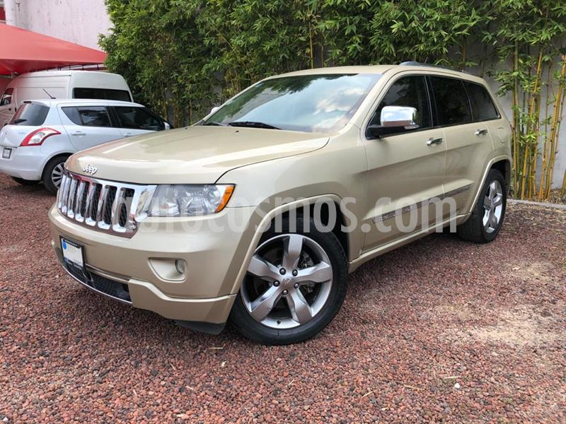 Jeep Grand Cherokee Overland 5.7L V8 4x4 Tech Group usado (2011) color Bronce precio $235,000