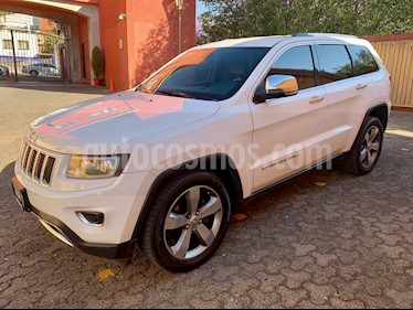 Jeep Grand Cherokee Limited 3.6L 4x2 usado (2014) color Blanco precio $310,000