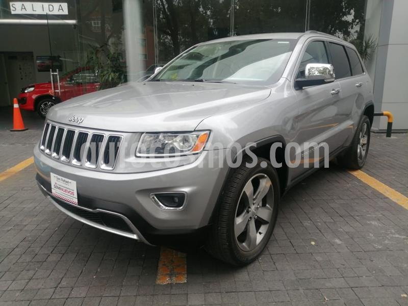 Jeep Grand Cherokee Limited 4x2 3.6L V6 usado (2015) color Granito precio $385,000