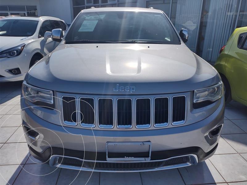 Foto Jeep Grand Cherokee Limited 4x2 3.6L V6 usado (2015) color Plata Dorado precio $380,000