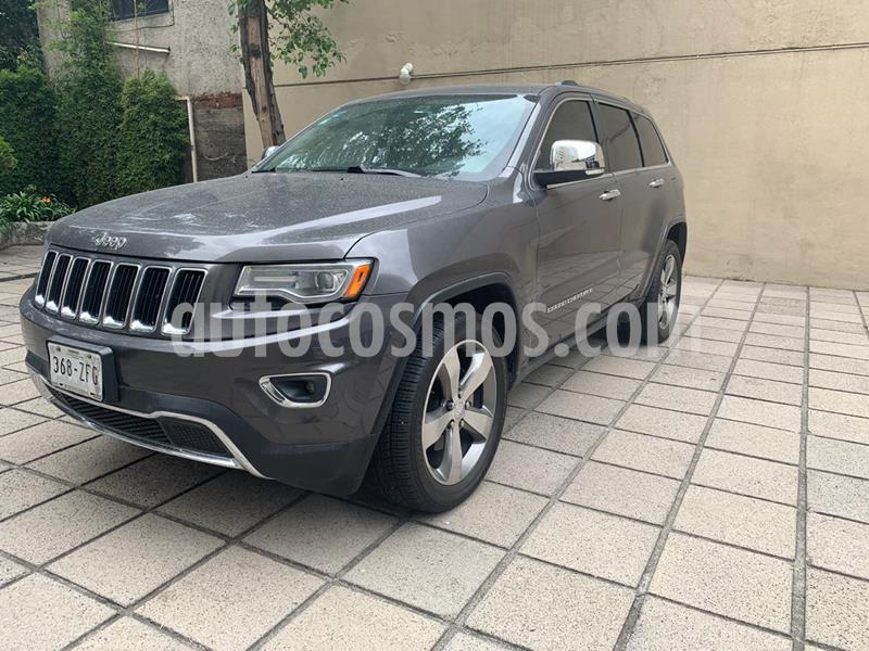 Jeep Grand Cherokee Limited 3.6L 4x2 usado (2014) color Granito precio $329,000