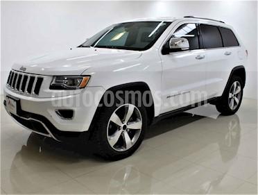 Jeep Grand Cherokee 5p Limited Lujo 4x2 V6/3.6 Aut usado (2015) color Blanco precio $325,000