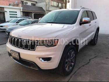 Jeep Grand Cherokee Limited Navegacion 4x2 3.6L V6 usado (2018) color Blanco precio $579,000