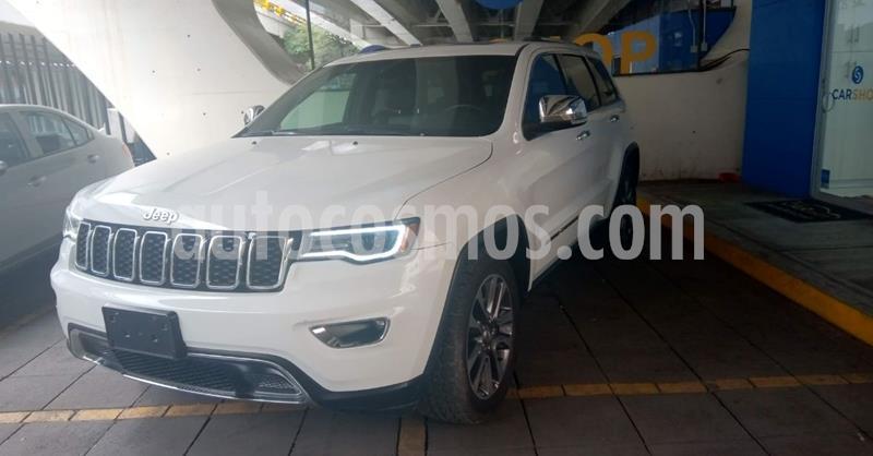 Jeep Grand Cherokee Limited 4x2 3.6L V6 usado (2018) color Blanco precio $499,900